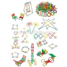 Hot sale intelligence plastic stick building blocks toys for kids