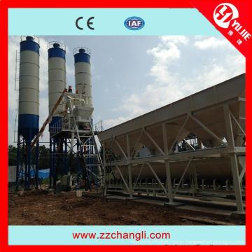 CE Certificate Wet Concrete Plant (HZS50)
