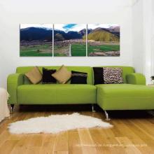 Wand Kunst dekorative Doppelbett Design Möbel