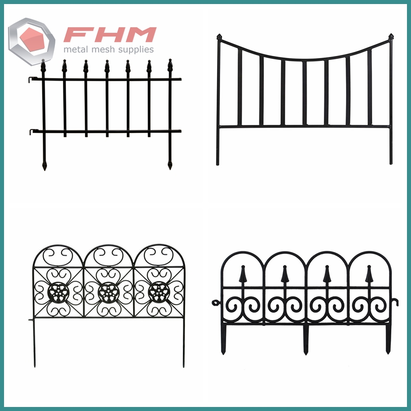 Wrought Iron Fence 02