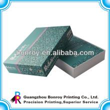 Embalaje de cajas de regalo de joyas de cartón personalizado