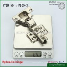 Великолепный F800-3 скрытый 90-градусный шарнир шкафа