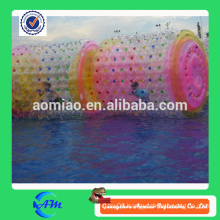 Hot sell orb wheel custom water roller, colorful inflatable water rolling ball large inflatable ball