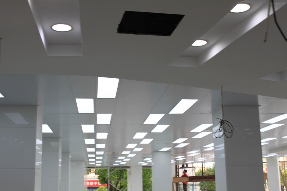 Aluminum Surface 9w led Panel Light