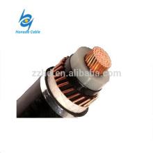 Cable de alimentación YJV XLPE con área seccional de 50 a 500 mm y pantalla de cinta Cu