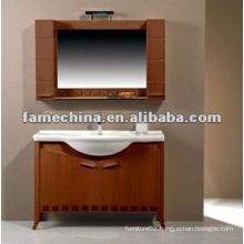 FSC solid wood bathroom furniture