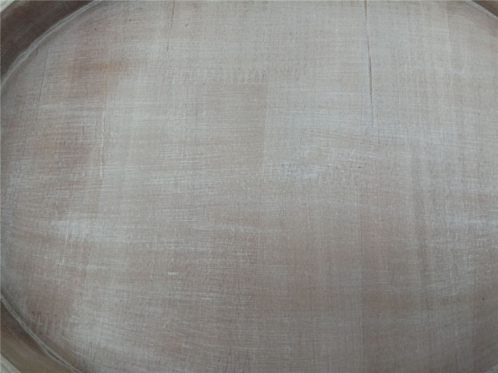 whitewash wooden plate