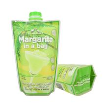 Custom Printing Aluminium Spout Bag Juice Bags Jelly Bags Packaging Spout Pouch Plastic Bag