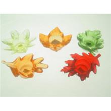 Folha de vidro em forma de castiçal votiva para Home Decor