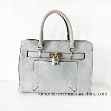 Venta al por mayor de moda señora PU bolsos de diseño con cerradura (NMDK-052502)