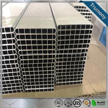 Tubería de aluminio microcanal plana de flujo paralelo