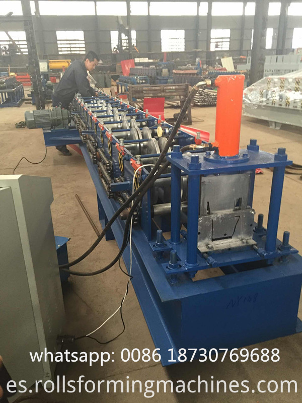 gutter form machine