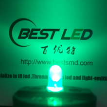 Super-Bright 5mm Verde Difuso LED 520nm LED