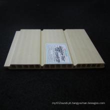 Tectos Wd-132h9-3f do painel de parede WPC do PVC do painel da porta deslizante de WPC