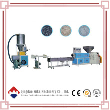 Línea de producción caliente plástica del extrusor de granulación con Ce