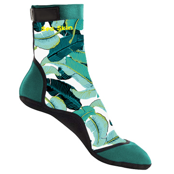 Calcetines de playa Seaskin Kids con lycra estampada