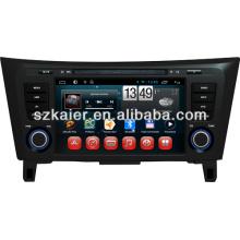 Dvd de voiture système Android pour Nissan Qashqai / X-Trail avec GPS / Bluetooth / TV / 3G / WIFI