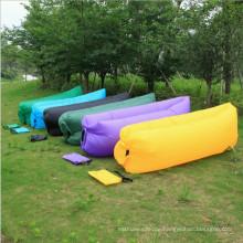 Schnelle füllende aufblasbare Luft-Sofa-faule Tasche für im Freien