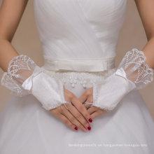 Aoliweiya Hochzeit Zubehör Brauthandschuh