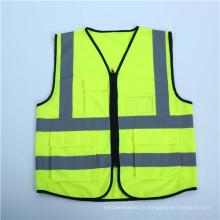Gilet de sécurité tricoté haute visibilité