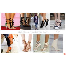 customized different styles women shoes