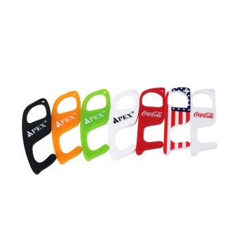 APEX Hot Sale Contactless Plastic Door Opener Hook
