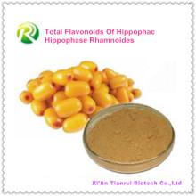Suministro de fábrica directamente Flavonoides totales 100% naturales de Hippophac Hippophase Rhamnoides