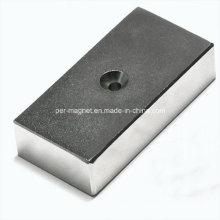 Блок неодимовые магниты для ветровой энергии с Ni покрытием