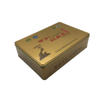 Large Size 300X220X55mm Tin Box Wholesale Tin Container for Tea