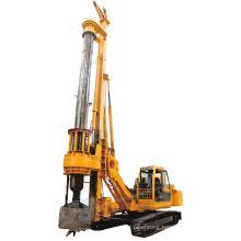 Depth 40m lock rod rotary piling drilling rig
