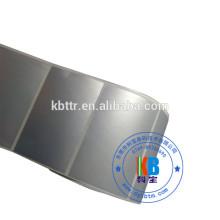 Самоклеящаяся электронная этикетка из синтетического ПЭТ матового серебра