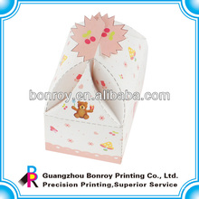 Neue Designpapier Kuchen Verpackung Geschenkbox