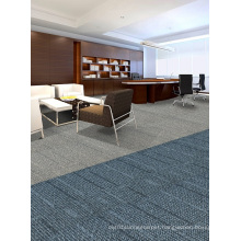 Nylon Jacquard Office Modular Carpet Tiles with PVC Backing