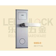Serrure de porte d'hôtel de type de carte de Digital RF de matériel d'acier inoxydable