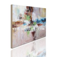 Peinture à l'huile abstrait 100% réalisée à la main (New-196)