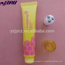 OEM пустой пластиковый косметический мягкий PE блеск для губ трубки упаковки