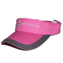 2017 custom design high quality golf visors plain