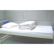 """tela de sábana, 100% 20 * 20 60 * 60 67 """"tela de algodón, teñido sólido juego de cama de hospital"""