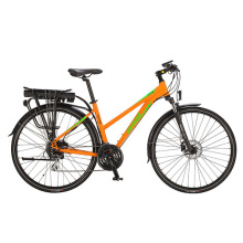 Wholesal Shimano Altus Lady City/Road Electric Bicycle for 27.5 Inch