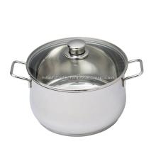 Кухонная утварь из нержавеющей стали, кастрюля для супа