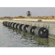 Guardabarros de goma cilíndrica / guardabarros marinos (TD-C600X300XL)