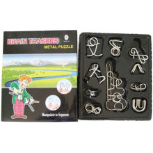 Metall Puzzle (10 in1 offene Widow Box)