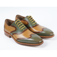 3 Color Genuine Leather Mens Business Shoes (NX 423)