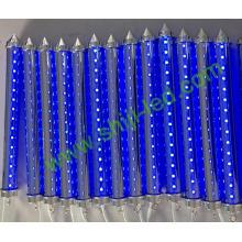 dmx rgb pixel tubo de meteoros led efectos de luz de estrella de efecto de onda de agua