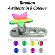 wholesale fashion Dermal Anchor Titanium Piercing