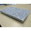 Piedra de granito gris de 5 mm con panel de nido de abeja de 15 mm