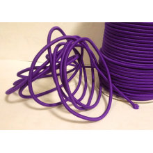 Dark Purple 2mm Round Elastic shock Cord