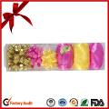 Gold Metallic Ribbon Eggs for Easter Day