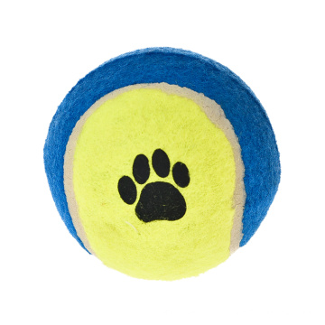 Classic OEM Manufacturers Professional Wholesale Interactive Pet Toy Tennis Ball Dog Chew Toy Ball