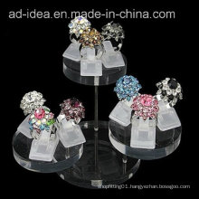 Creative Design Acrylic Display Stand/Round Exhibition Stand/Exhibition for Earring
